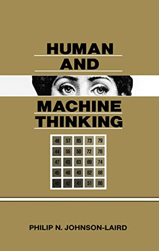 9780805809213: Human and Machine Thinking (Distinguished Lecture Series)