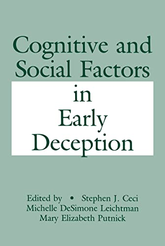 9780805809534: Cognitive and Social Factors in Early Deception