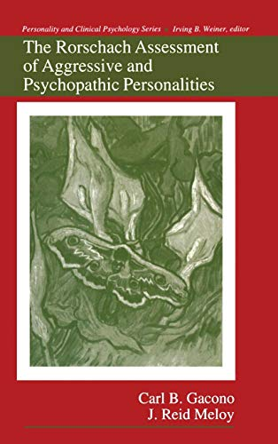 9780805809800: The Rorschach Assessment of Aggressive and Psychopathic Personalities (Personality and Clinical Psychology)