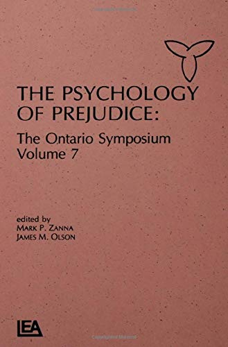 9780805811193: The Psychology of Prejudice: The Ontario Symposium, Volume 7 (Ontario Symposia on Personality and Social Psychology Series)