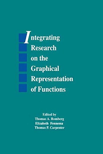 9780805811346: Integrating Research on the Graphical Representation of Functions (Studies in Mathematical Thinking and Learning Series)