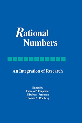 9780805811353: Rational Numbers: An Integration of Research (Studies in Mathematical Thinking and Learning Series)