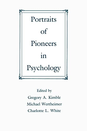 9780805811360: Portraits of Pioneers in Psychology (Portraits of Pioneers in Psychology (Paperback APA))