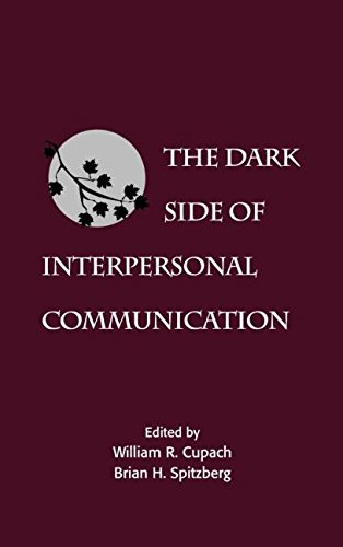 9780805811674: The Dark Side of Interpersonal Communication