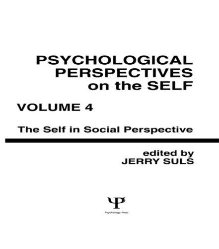 Psychological Perspectives on the Self, Volume 4: n/a