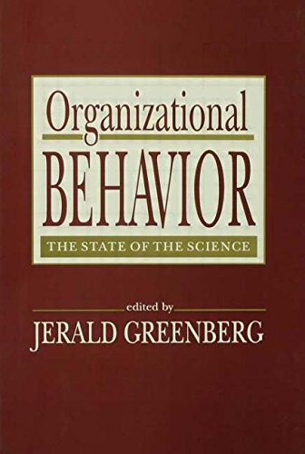 9780805812152: Organizational Behavior: the State of the Science (Series in Applied Psychology)