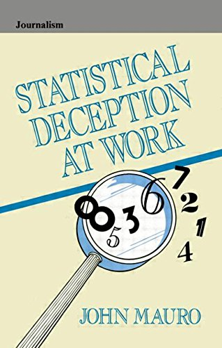 9780805812329: Statistical Deception at Work (Routledge Communication Series)
