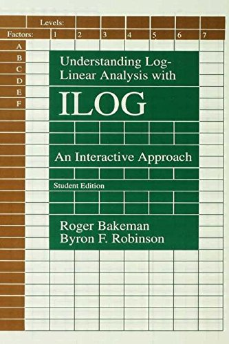 9780805812398: Understanding Log-linear Analysis With Ilog: An Interactive Approach