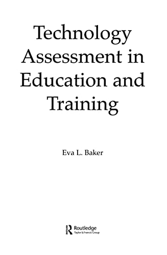9780805812473: Technology Assessment in Education and Training
