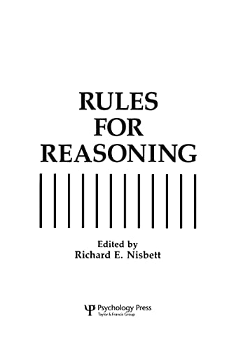 9780805812565: Rules for Reasoning