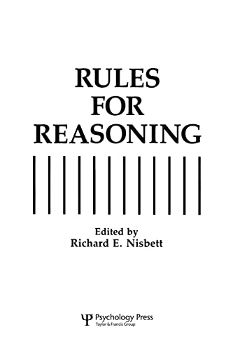 9780805812572: Rules for Reasoning