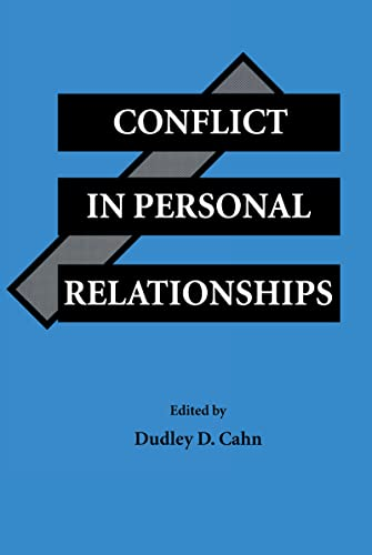 9780805812770: Conflict in Personal Relationships (Routledge Communication Series)