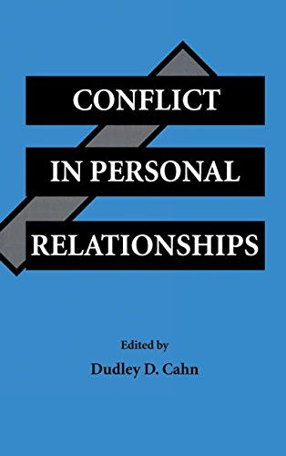 9780805812787: Conflict in Personal Relationships (Routledge Communication Series)