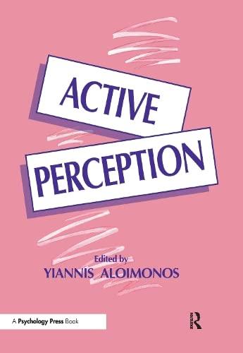 9780805812909: Active Perception (Computer Vision Series)