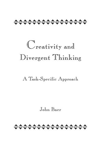 9780805812954: Creativity and Divergent Thinking: A Task-Specific Approach
