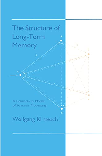 9780805813548: The Structure of Long-term Memory: A Connectivity Model of Semantic Processing