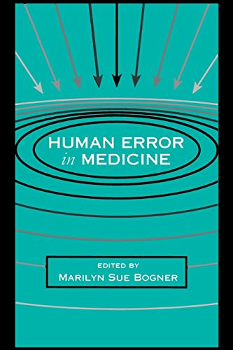 9780805813869: Human Error in Medicine (Human Error and Safety)