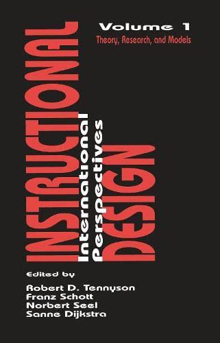 Instructional Design Theories Models Abebooks