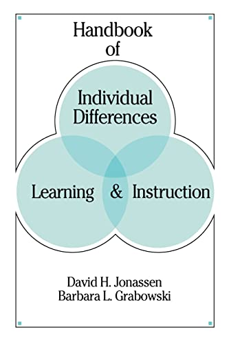 9780805814132: Handbook of Individual Differences, Learning, and Instruction