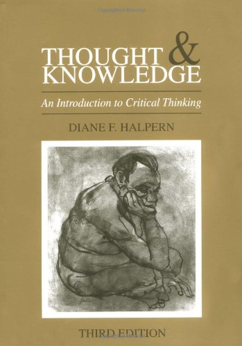 9780805814941: Thought & Knowledge: Thought and Knowledge: An Introduction to Critical Thinking