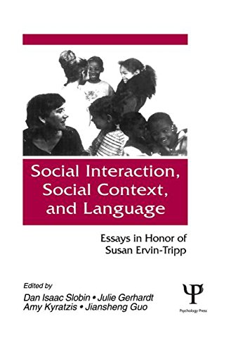 9780805814996: Social interaction, Social Context, and Language: Essays in Honor of Susan Ervin-tripp