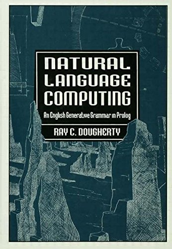 9780805815269: Natural Language Computing: An English Generative Grammar in Prolog