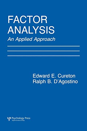 9780805815467: Factor Analysis: An Applied Approach