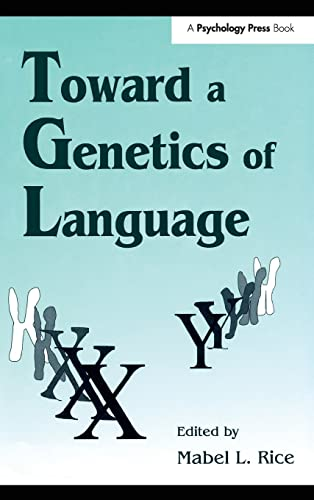 9780805816778: Toward A Genetics of Language