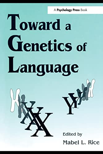 9780805816785: Toward A Genetics of Language