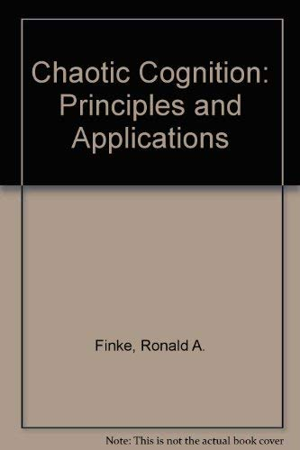 9780805817393: Chaotic Cognition: Principles and Applications