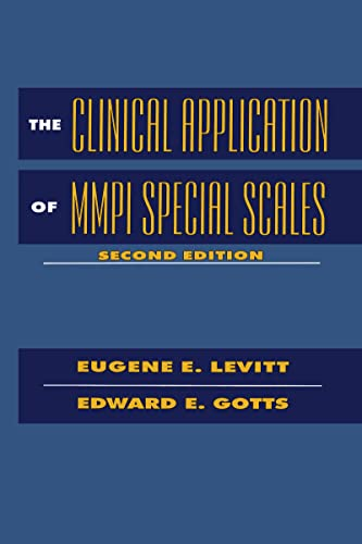 9780805817706: The Clinical Application of MMPI Special Scales