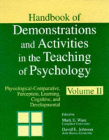 Handbook of Demonstrations and Activities in the