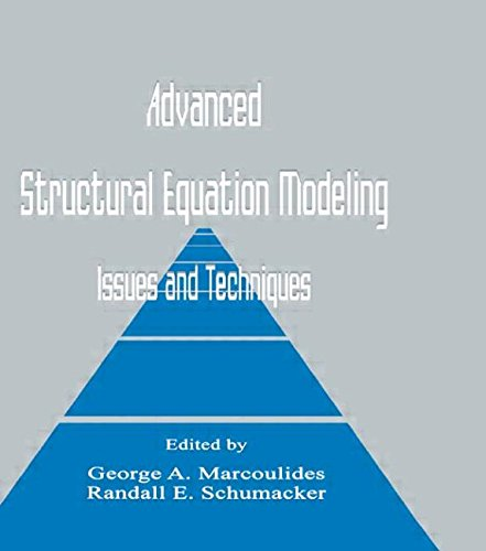 9780805818192: Advanced Structural Equation Modeling: Issues and Techniques
