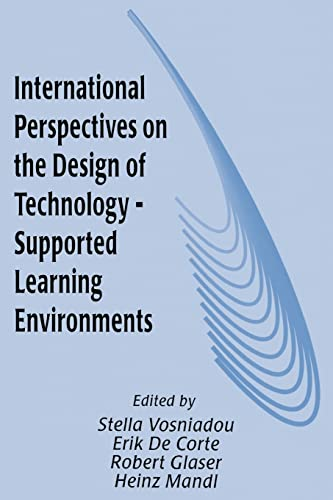 9780805818536: International Perspectives on the Design of Technology-supported Learning Environments
