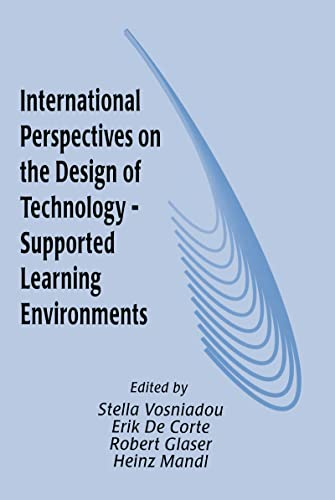 9780805818543: International Perspectives on the Design of Technology-supported Learning Environments