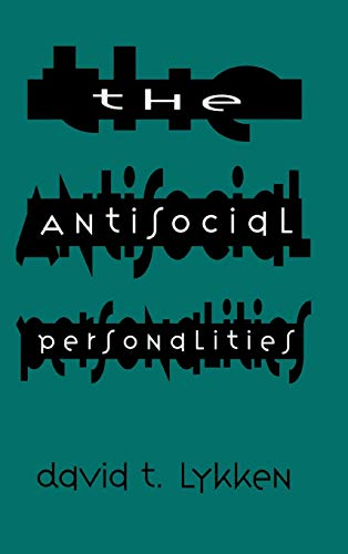 9780805819410: The Antisocial Personalities