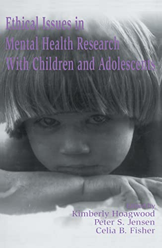 9780805819526: Ethical Issues in Mental Health Research With Children and Adolescents