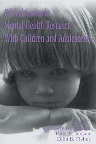 9780805819533: Ethical Issues in Mental Health Research With Children and Adolescents