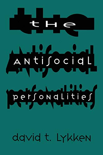 9780805819748: The Antisocial Personalities