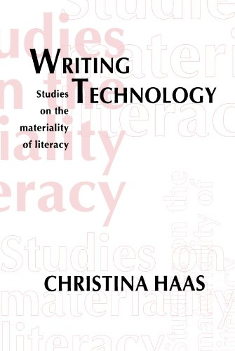 9780805819946: Writing Technology: Studies on the Materiality of Literacy