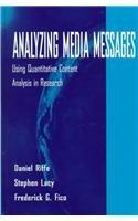 9780805820188: Analyzing Media Messages: Using Quantitative Content Analysis in Research: Using Quantitative Context Analysis in Research (Communication)
