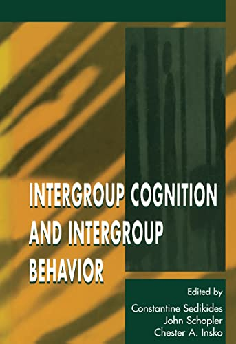9780805820553: Intergroup Cognition and Intergroup Behavior (Applied Social Research Series)