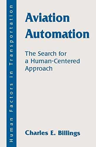 9780805821277: Aviation Automation: The Search for A Human-centered Approach (Human Factors in Transportation)