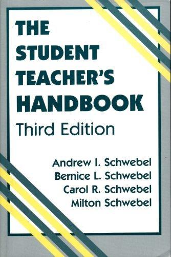 9780805821307: The Student Teacher's Handbook