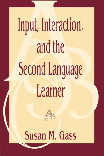 9780805822090: Input, Interaction, and the Second Language Learner (Second Language Acquisition Research: Theoretical & Methodological Issues)