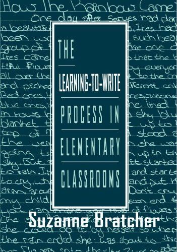 9780805822557: The Learning-to-write Process in Elementary Classrooms
