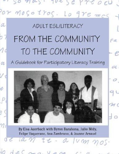 9780805822670: Adult ESL/Literacy From the Community to the Community: A Guidebook for Participatory Literacy Training