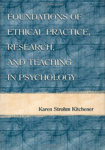 9780805823097: Foundations of Ethical Practice, Research, and Teaching in Psychology and Counseling