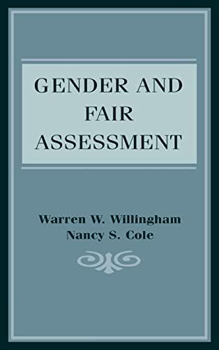 9780805823318: Gender and Fair Assessment