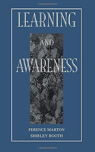 9780805824544: Learning and Awareness (Educational Psychology Series)